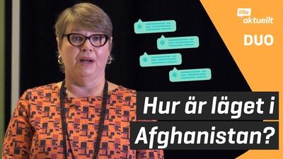 Experten svarar på frågor om Afghanistan