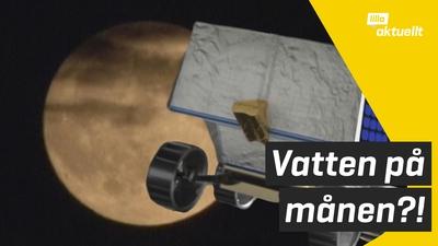 Robot ska leta efter vatten på månen