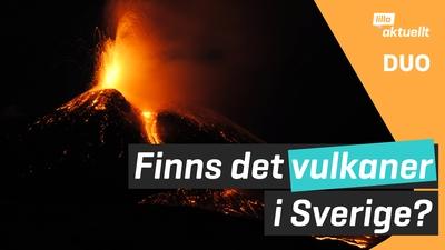 Finns det vulkaner i Sverige?
