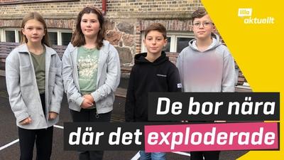 Explosionen i Göteborg: deras skola ligger nära