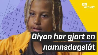 Diyan skrev en namnsdagslåt