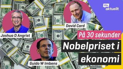 Nobelpriset i ekonomi på 30 sekunder