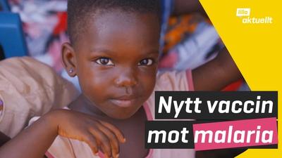 Malariavaccin för barn godkänt