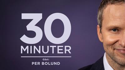 Miljö- och klimatminister Per Bolund (MP) är gäst hos Anders Holmberg. - 30 minuter