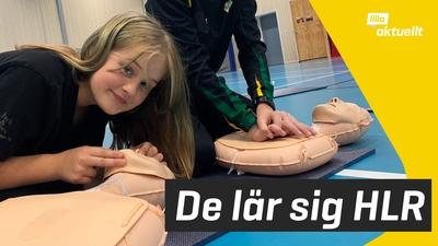 De lär sig hjärt- och lungräddning i skolan