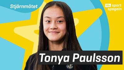 Vi träffar gymnastikstjärnan Tonya Paulsson!