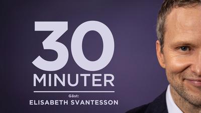 Moderaternas ekonomisk-politiska talesperson Elisabeth Svantesson intervjuas av Anders Holmberg. - 30 minuter