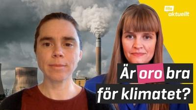 Många känner oro över klimatet