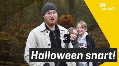 Snart är det Halloween!