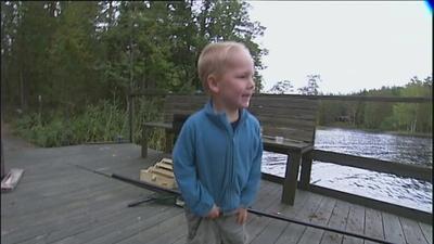 Elias vill fiska!