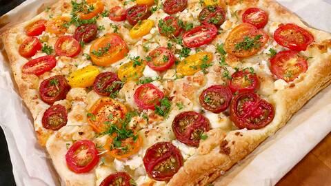 Frasigt tomatflarn