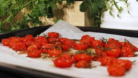 Ugnsrostade tomater