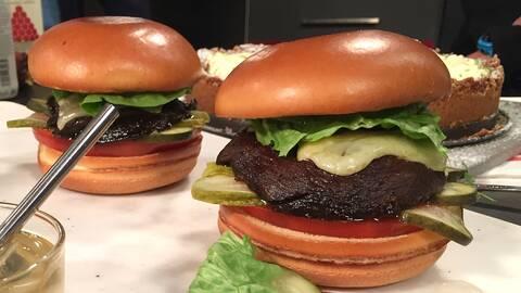Plant burger (vegetarisk hamburgare)