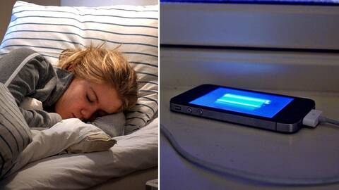Livsfarligt beteende när mobiler laddas   SVT Nyheter