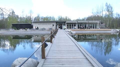 Naturens hus bygger ut för fler besökare | SVT Nyheter