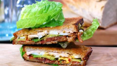 Strömsös club sandwich.