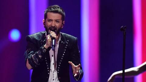 Irländsk Manlig Sångare