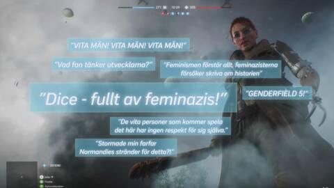 Ett axplock av de arga reaktioner som Battlefields första kvinnliga huvudperson har väckt.