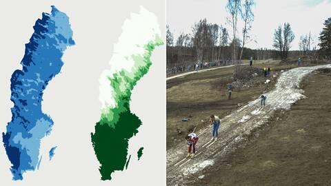 Varmare, blötare, mindre snö – SVT reder ut hur klimatet kan förändras i framtiden.
