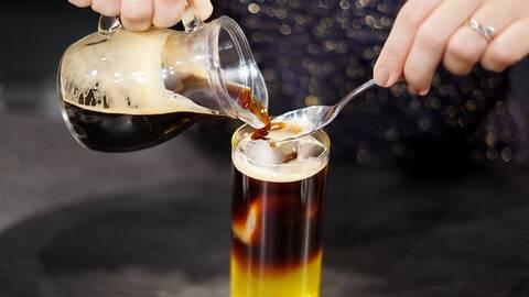 Espresso tonic.