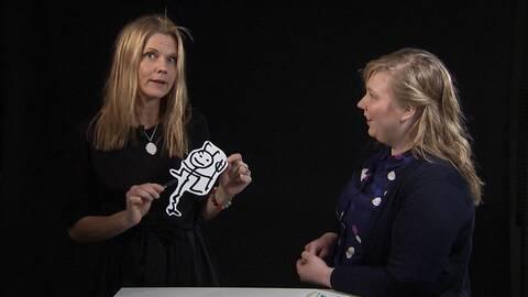 Kulturnyheternas teaterkritiker Anna Hedelius.