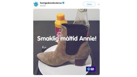 Starka reaktioner på Lööfs besked i regeringsfrågan   SVT