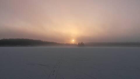 Morgon vid Gösjön.