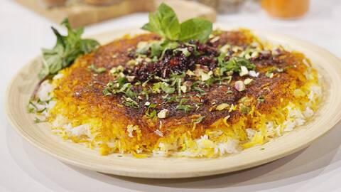 Persiskt ris tahdig.
