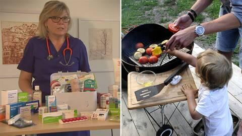 Fråga doktorns tidigare läkare Gunilla Hasselgren tipsar om vilka läkemedel du bör ha med dig på resan.