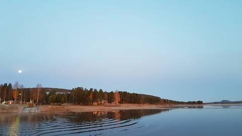 Överkalix Norrbotten- 9.8 grader kl 7.00 blir en fin dag.