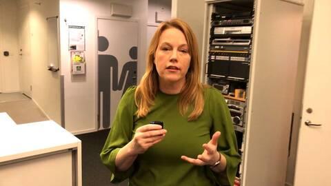 Tina Enström reporter SVT Nyheter Öst