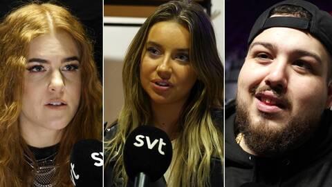 Artisterna i Melodifestivalen hanterar Corona-oron väldigt olika.