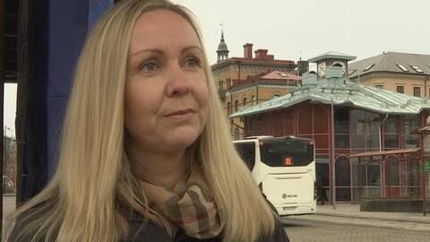Charlotta Hellhoff, förbundsdirektör på Kollektivtrafikmyndigheten.