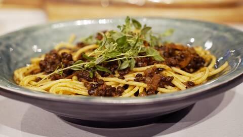 Linssås till pasta.