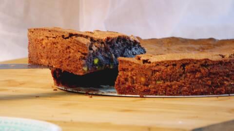 Torta caprese - italiensk kladdkaka.