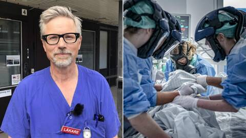 Starta klippet för att höra Magnus Brink, överläkare vid Sahlgrenska universitetssjukhuset, berätta om en intensiv och annorlunda perdiod som nu övergått till ett läge där många anställda kan andas ut.