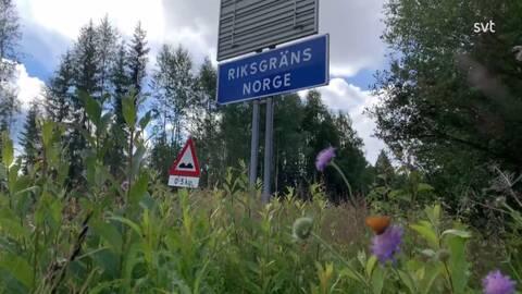 Norge Oppnar Gransen Mot Dalarna Svt Nyheter