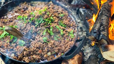 Älg chili con carne