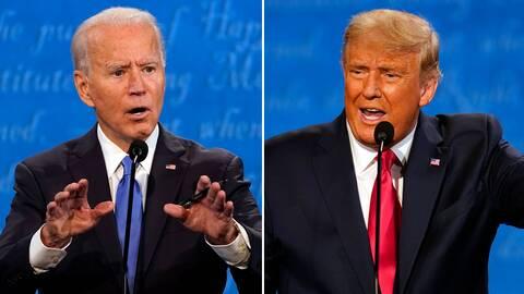 Joe Biden och Donald Trump