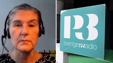 Anna-Karin Larsson, musikansvarig på Sveriges radio, om beslutet att minska antalet spelningar av den häktade artistens låtar.