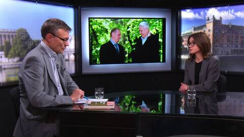 Johanna Melén intervjuas om boken Mina ryska vänner: en berättelse om Putins Ryssland.
