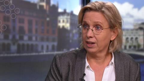 """Nadja Yllner, författare till boken """"Hon kallades hemmasittare""""."""