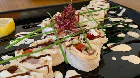 Svensk sushi.