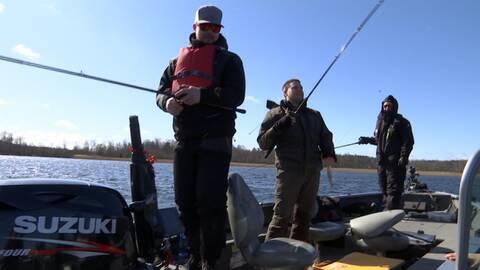 Fiskare i båt