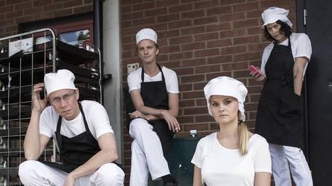 K Svensson, Ola Söderholm, Nanna Johansson och Liv Strömquist.