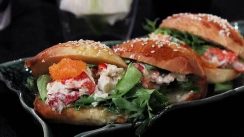 Lobster rolls.
