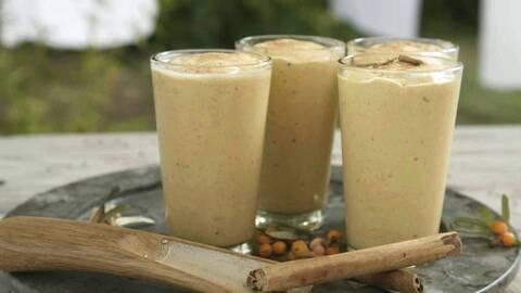 Mangolassi smoothie