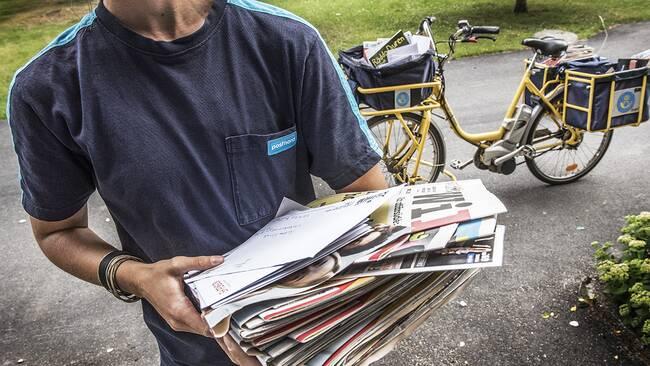 Brevbärare ogillar det nya utdelningssystemet för post.