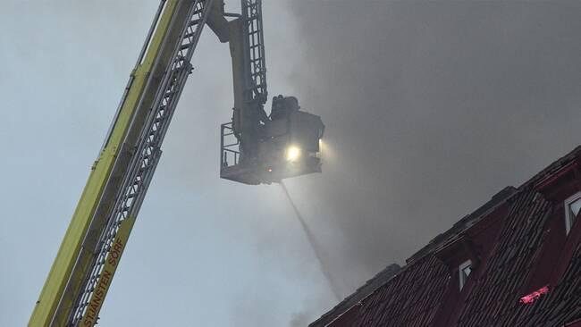 Butik brinner i simrishamn