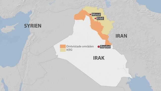 Oro over invasion i irakiska kurdistan